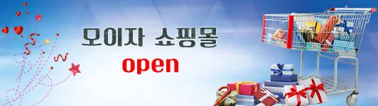 모이자 쇼핑몰 오픈